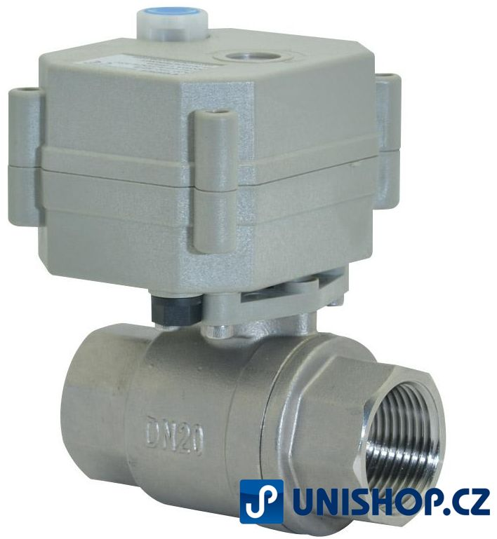 A20-T20 zónový ventil se servopohonem napětí 9-35V AC/DC; AKCE