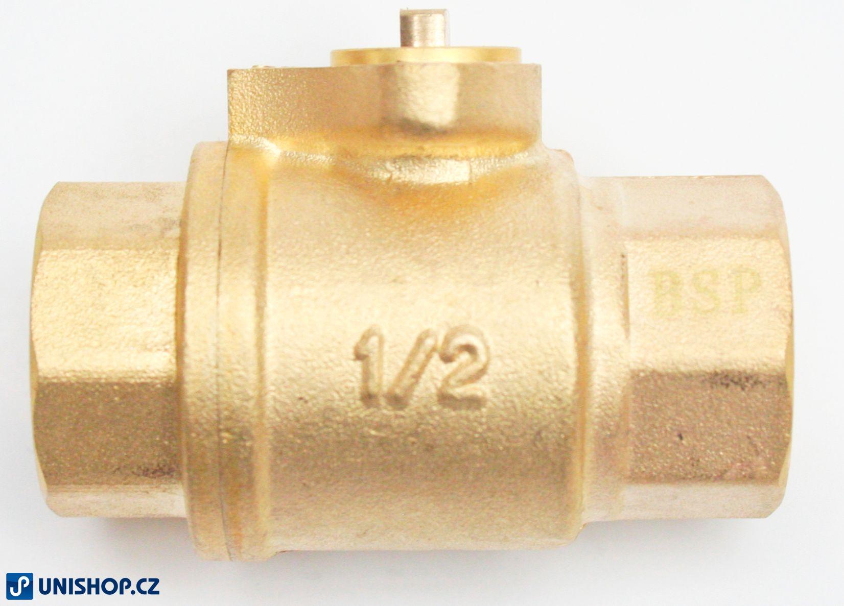 """Zónový kulový ventil tělo T20, G¾"""" - mosaz"""