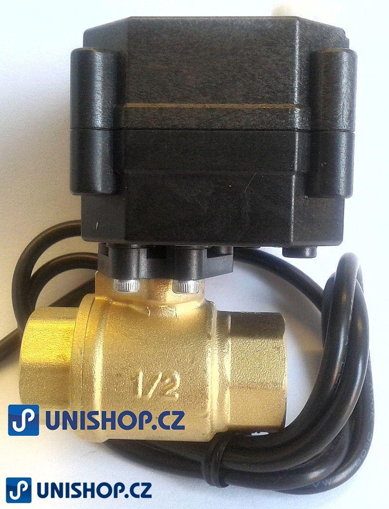A20-T15 zónový ventil se servopohonem napětí 9-35V AC/DC; MOSAZ
