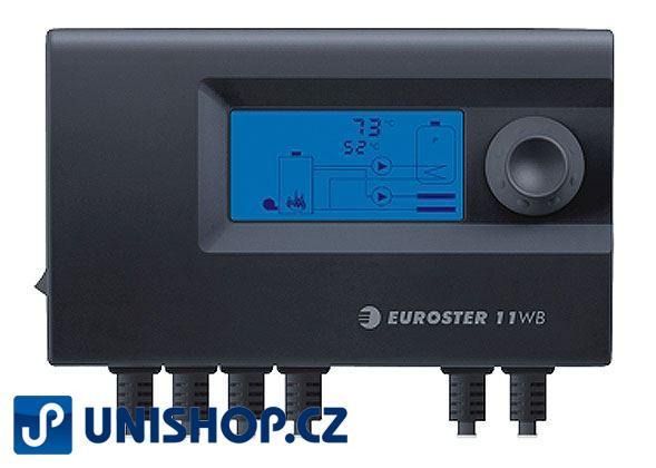 Termostat Euroster 11WB pro kotle na tuhá paliva
