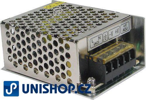 Zdroj 12V/40W spínaný HS-40/12 CARSPA