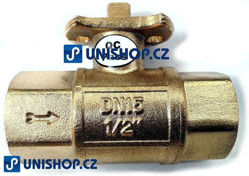 Zónový kulový ventil Lufberg ZV 2-15-5 - DVOJCESTNÝ