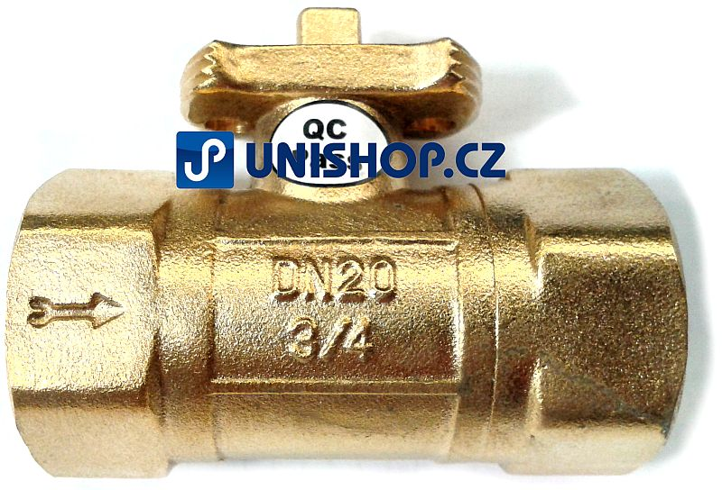 Zónový kulový ventil Lufberg ZV 2-20-8 - DVOJCESTNÝ