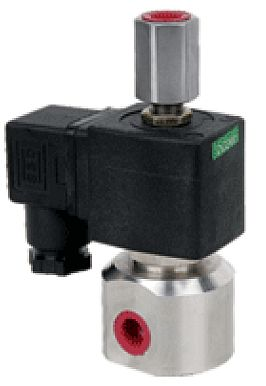 "MP 23-SS08, NC, G1/4"", 12V DC, - Elektromagnetický ventil"