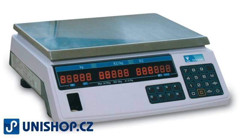 Obchodní váha DIGI DS 788 B