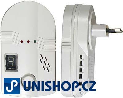 Alarm pro LPG, zemní a svítiplyn (požární alarm)