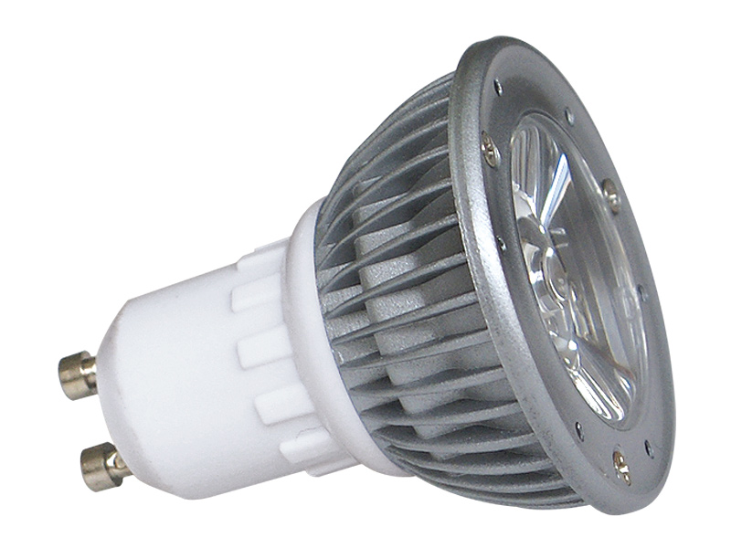 Fotografie LED POWER GU10 1x3W-CW studená bílá