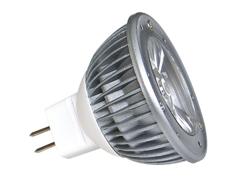 Fotografie LED POWER MR16 1x3W-WW teplá bílá