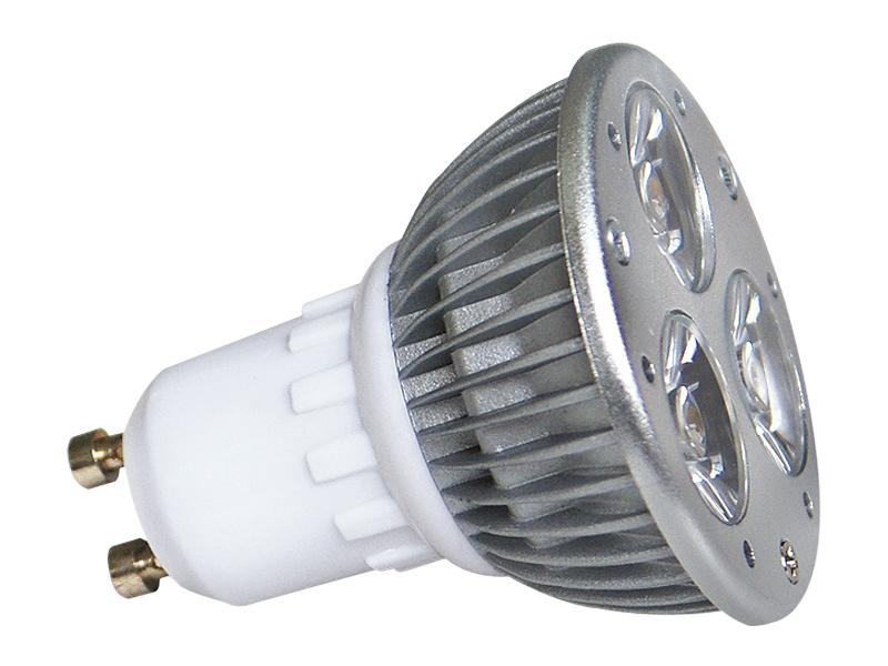 LED POWER GU10 3x1W-CW studená bílá