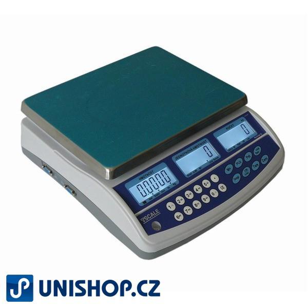 Přesná počítací váha TSQHD 3kg/0,05g, s připojením ex. plošiny