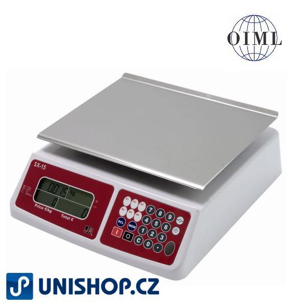 Váha stolní do 15kg, SX-15 -levná obchodní váha