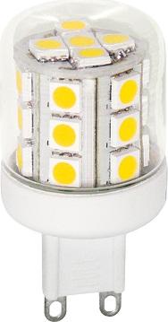 LED 23 SMD 5050 G9 2,6W WW