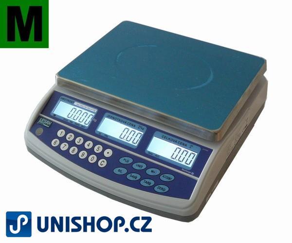 Obchodní pultová váha do 15kg - TSQTP
