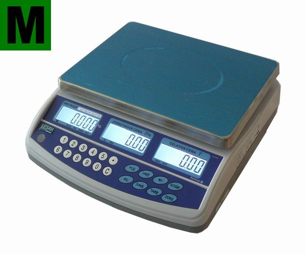Obchodní pultová váha do 6kg - TSQTP