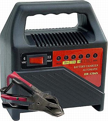 Automatická nabíječka autobaterií 6-12V/6A HB1206S