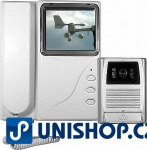 """Videotelefon + vrátný color, LCD 4"""""""