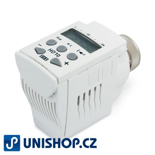 HD10 - Digitální termostatická hlavice