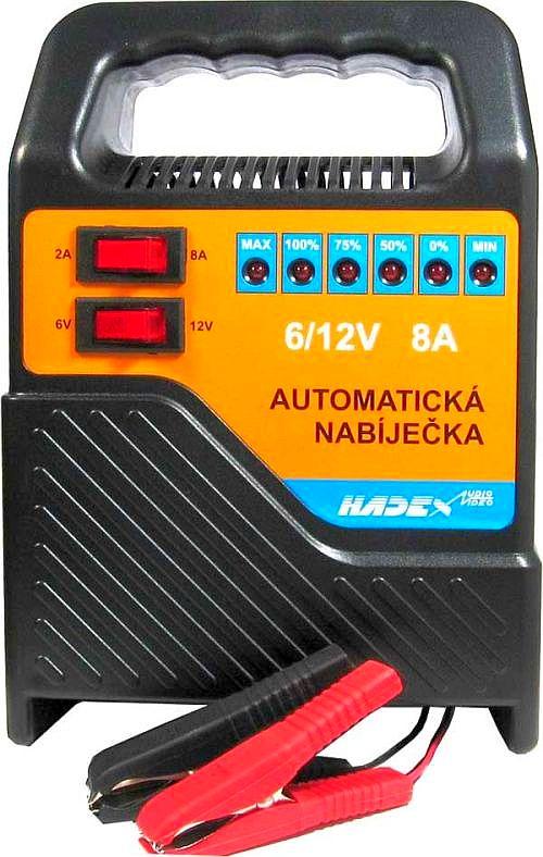 Nabíječka autobaterií 6-12V/8A HB1208S