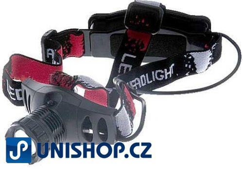 Svítilna LED 5W ,čelovka-model 6542, včetně nabíjecích bat.