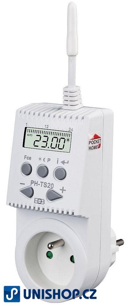 PH-TS20 - Bezdrátová tepelně spínaná zásuvka
