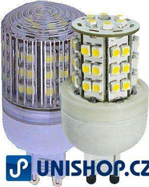 Žárovka LED-48x SMD G9 230VAC bílá