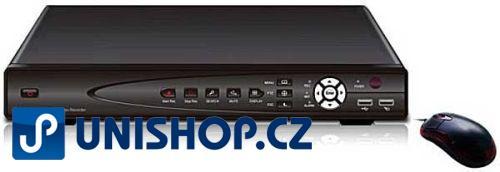 Digitální videorekordér 4ch, SDVR-8604B se vzdáleným přístupem