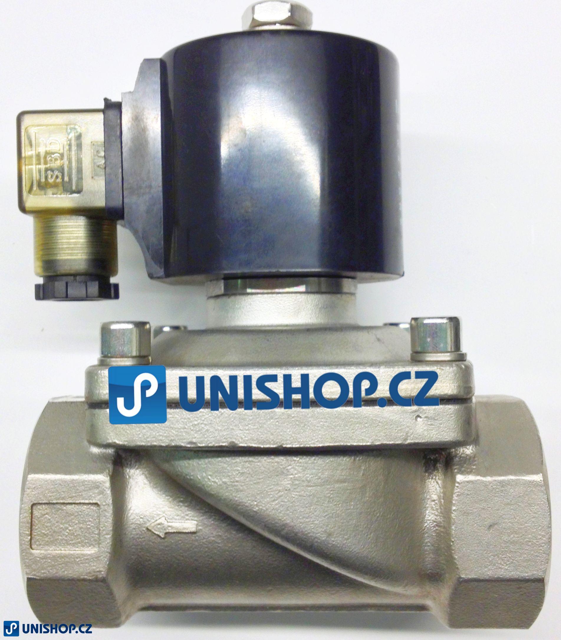 "AKCE MP-W400-40SV, NC, 230V AC, G 1 1/2"" - Elektromagnetický ventil"