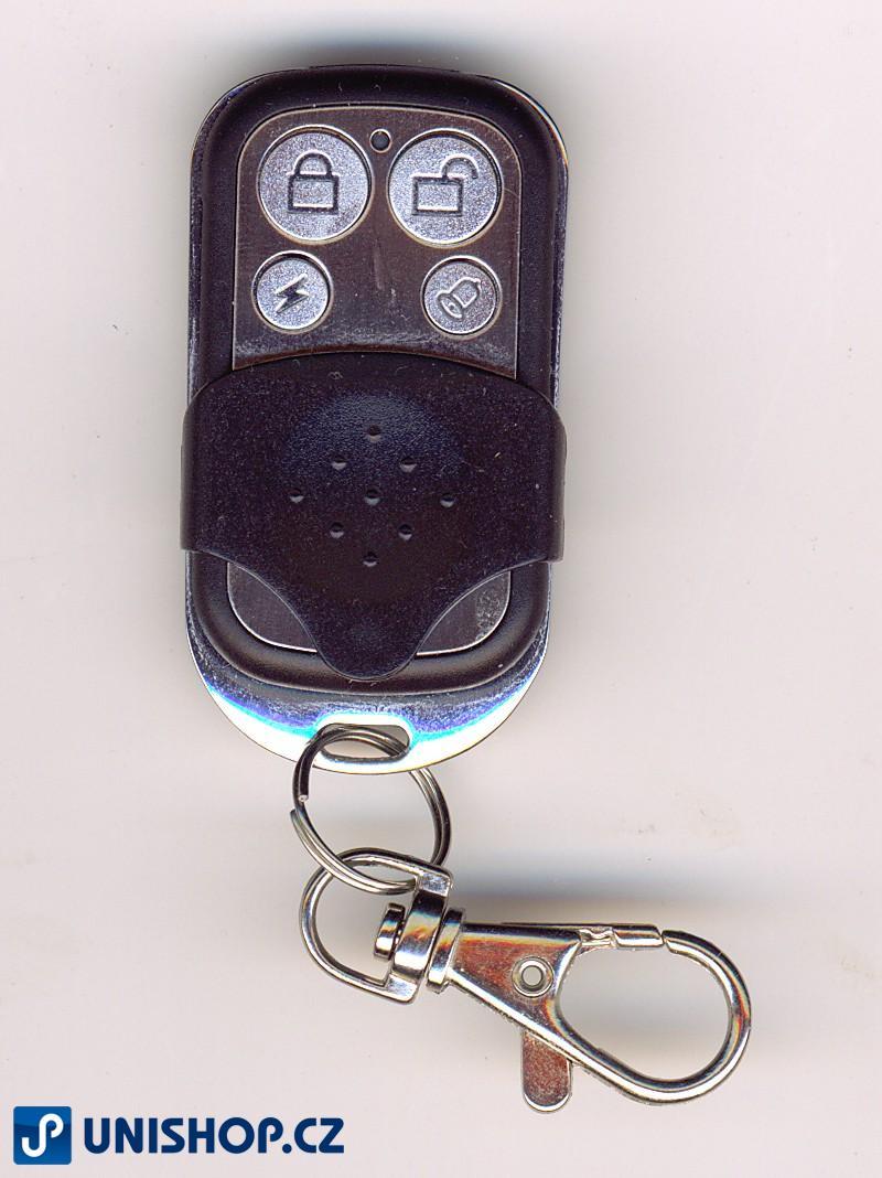 GSM bezdrátový alarm klíčenka