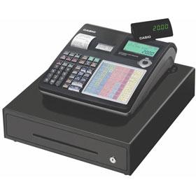 SE C2000M CASIO; Elektronická registrační restaurační pokladna