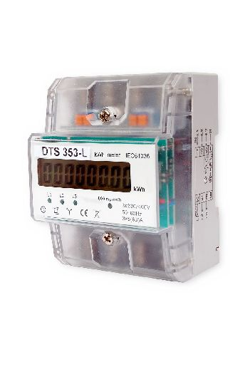 Elektroměr 3F na DIN lištu třífázový DTS-353-L digitální