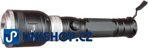 Svítilna LED 5W, napájení Li-Ion 18650