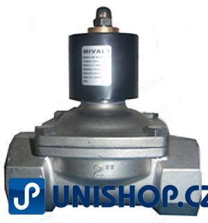 """MP-W500-50SVK, NO, 230V AC,G 2 """" - nerezový - Elektromagnetický ventil"""